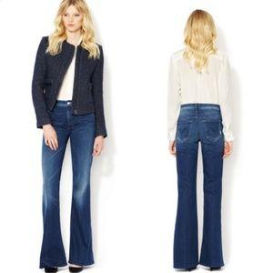 MOTHER Mellow Drama Flare Leg Denim Jean's Size 30
